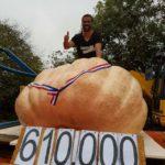 potiron de 610 kg